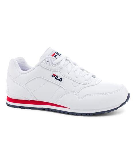Sepatu Fila Putih Original sepatu casual fila original look at this zulilyfind fila