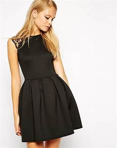 30 beautiful little and long black bridesmaid dresses With asos robe noire