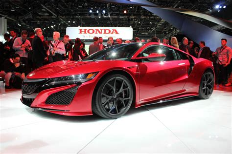 2017 acura nsx release date