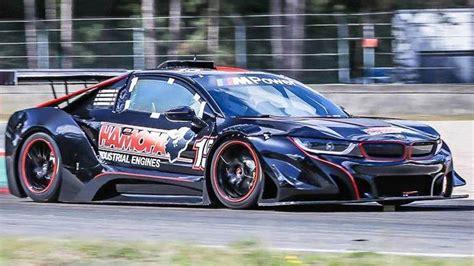 bmw  race car ditches hybrid   hp