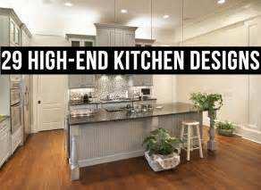 galley kitchens with islands 29 high end kitchen designs layouts
