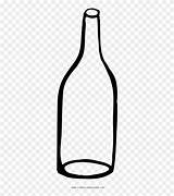 Bottle Empty Glass Clipart Coloring Clip Transparent Pinclipart Clipground sketch template