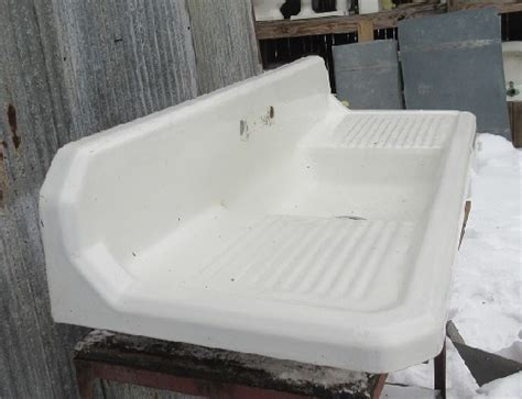Vintage Richmond Cast Iron Kitchen  Ee  Sink Ee   Recycling The
