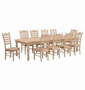 [120 Inch] Extension Farm Table Wood You Furniture