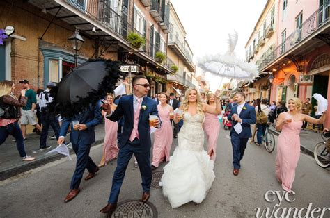 New Orleans Wedding Tradition Second Line Parade Jazz