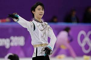 Winter Olympics: Japan's Yuzuru Hanyu wins men's figure ...