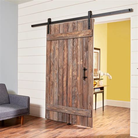 how to build a door how to build a simple rustic barn door the family handyman