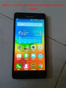 Android Smartphone Flashing Tutorial  Lenovo A6000