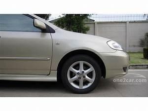 Toyota Corolla Altis 2003 E 1 6 In  U0e01 U0e23 U0e38 U0e07 U0e40 U0e17 U0e1e U0e41 U0e25 U0e30 U0e1b U0e23 U0e34 U0e21 U0e13 U0e11 U0e25
