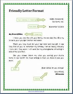 8  Friendly Letter Example