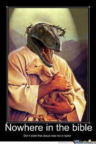 Raptor Jesus Meme