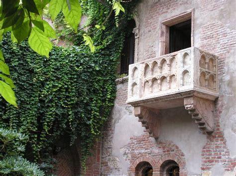 verona romeo  juliet balcony stock photo