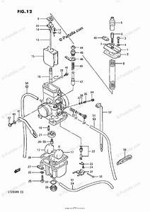 Suzuki Atv 1989 Oem Parts Diagram For Carburetor