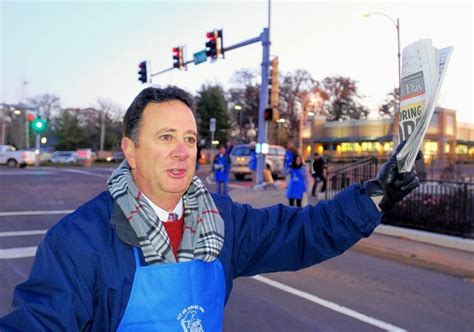 Old Newsboys Day Volunteers Occupy Street Corners To Raise