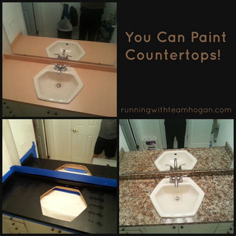 can you paint at you can paint countertops running with team hogan