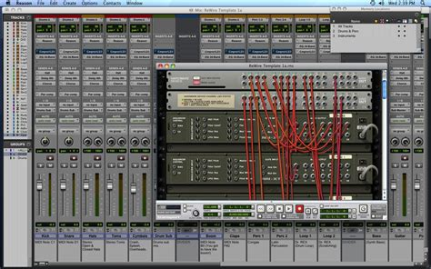 how to rewire a l rewire reason with pro tools 9 todayemeralda6 over blog com