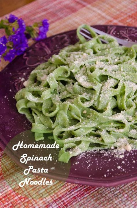 how to make your own noodles make your own spinach pasta noodles food to make pinterest salts spinach and eggs