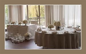 Tischdeko Runder Tisch Hochzeit : klassische tischdeko ~ Orissabook.com Haus und Dekorationen