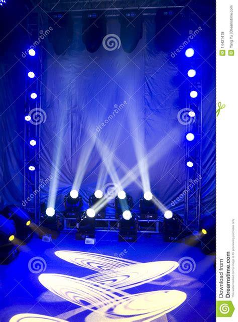 beautiful stage lighting royalty  stock  image