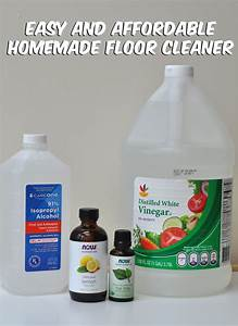 Homemade all natural floor cleaner balancing today for Home made floor cleaner