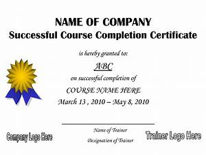 printable certificate of completion just bcause With class completion certificate template