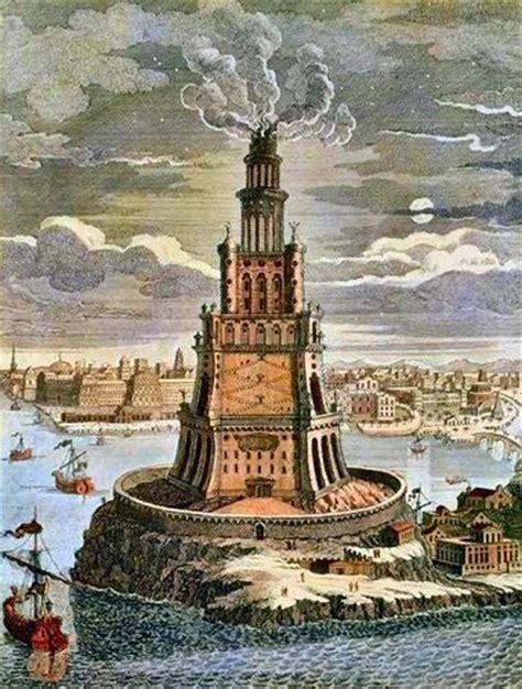 le phare d alexandrie egypte antique