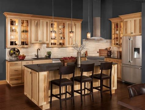 Hickory Kitchen Cabinets At Home Design Concept Ideas