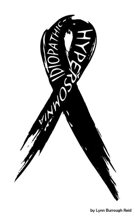 Black Awareness ribbon by Lynn Reid- I like this one so