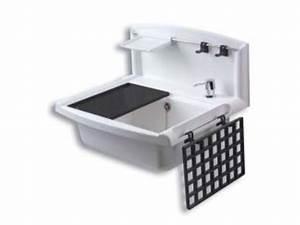 Bac A Laver : postes d 39 eau et bac laver pour fixation murale contact ~ Melissatoandfro.com Idées de Décoration