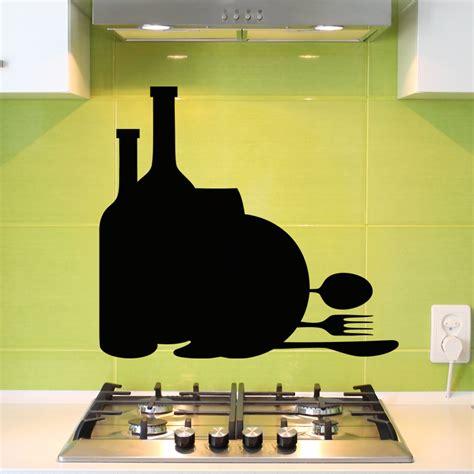 cuisine ardoise design sticker ardoise design repas stickers cuisine ambiance