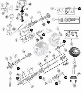 Jeep Cj Brog Warner T5 Transmission Parts From Midwest