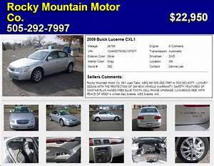 View Of Buick Lucerne CXL1 Photos Video Features And