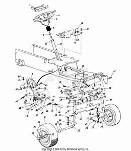 Mtd 14a Steering Assembly  Axle  Front