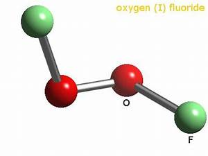 WebElements Periodic Table Oxygen dioxygen difluoride