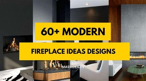 Kamin Modern Design by 60 Best Modern Fireplace Designs Ideas 2018