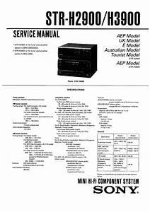 Sony Mhc-3900