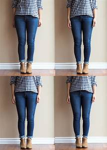Jeans With Ankle Boots - Oasis amor Fashion