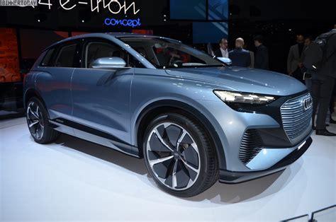 Audi Q4 E-tron At The 2019 Geneva Motor Show