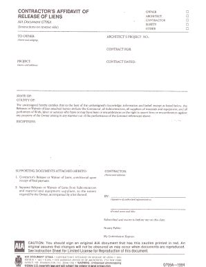 aia g707 form download aia g707 fill online printable fillable blank pdffiller