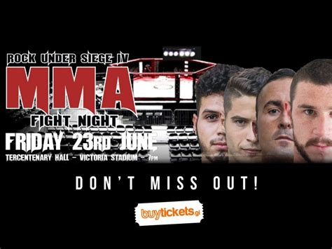 rock siege 4 mma fight buy tickets gibraltar