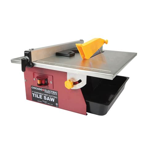 Tile Saw Stand Harbor Freight by 7 In Portable Cut Tile Saw