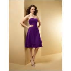 purple bridesmaid dresses cheap purple chiffon bridesmaid dresses dresses trend