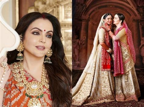 heres  nita ambani nailed  mother   bride    grand ambani wedding
