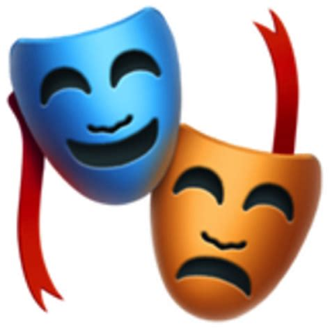 performing arts emoji ufad