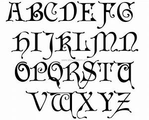 image gallery old english alphabet a z With old english gothic letters