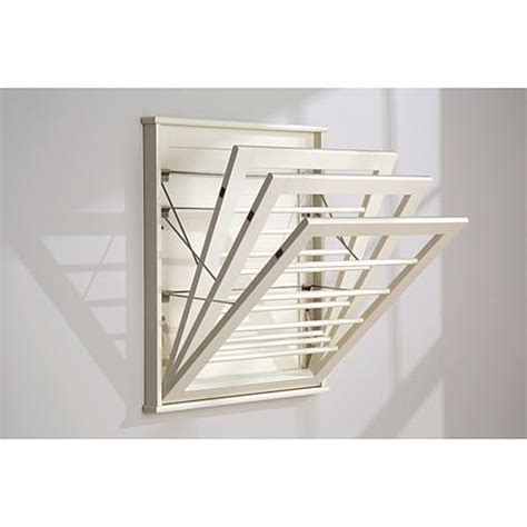 wall mounted drying rack improvements space saving wall mount drying rack large