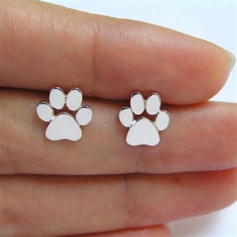 sterling silver long cat earrings bengal cats