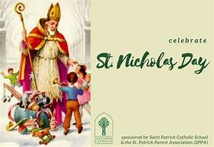 Celebrate St Nicholas Day Saint Patrick Catholic Church