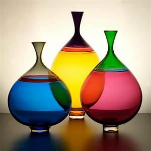 Jarre En Verre : l vase en verre un joli d tail de la d co ~ Teatrodelosmanantiales.com Idées de Décoration