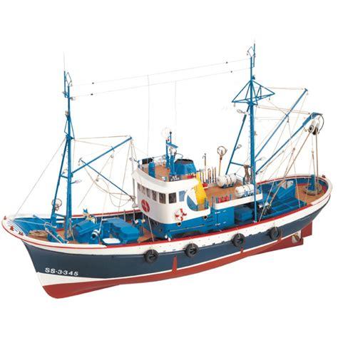 maquette en bois du bateau de p 234 che marina ii un thonier cantabrique